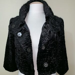 NEW MARCIANO BLACK COLOR JACKET SIZE SMALL